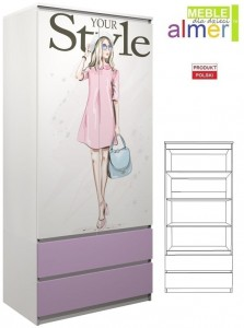 szafa FASHION  C21 90x55 w.200