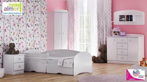 Unikalne Zestaw BIANCO A z łóżkiem - WYSYŁKA GRATIS Meble dla dzieci XA41