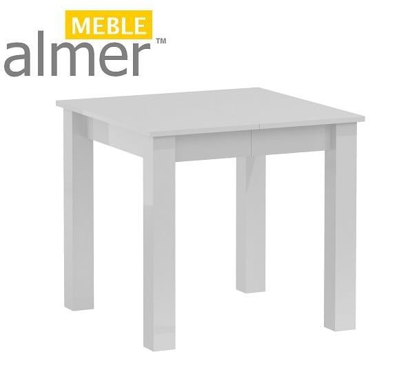 Stół S20b Biały Połysk 802x50x80 Wys 76 Meble Dla Dzieci