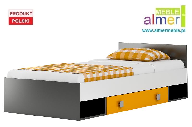 Yellow Y18 łóżko 204x94 Meble Dla Dzieci Biurka łóżka Pokoje