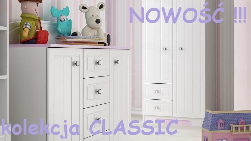 Classic N13 Komoda Dla Dzieci 120x47 W82